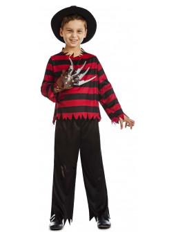 Disfraz de Freddy Krueger para Niño