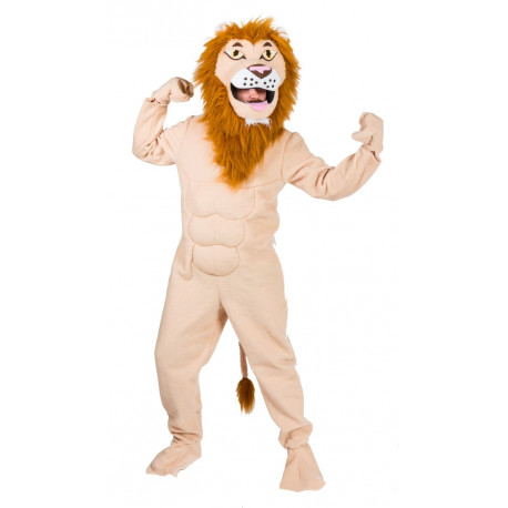 Disfraz de León Molón para Adulto