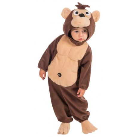 Disfraz de Mono Divertido para Bebé