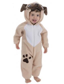 Disfraz de Perro Carlino para Bebé