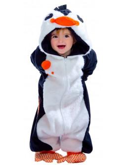 Disfraz de Pingüino Pelele para Bebé