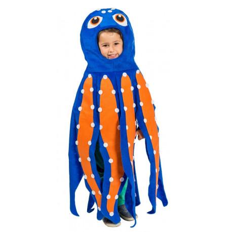 Disfraz de Pulpo Divertido Infantil