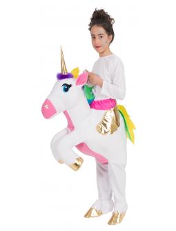 Disfraz a Hombros de Unicornio para Niña