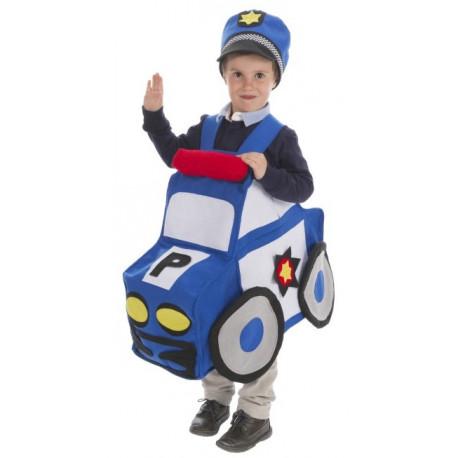 Disfraz de Coche de Policía Infantil