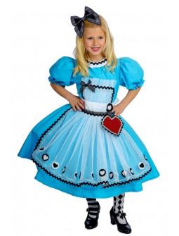 Disfraz de Reina de Corazones Premium para Niña
