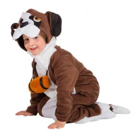 Disfraz de Perro San Bernardo Infantil