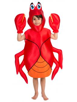 Disfraz de Cangrejo Tenacitas Infantil
