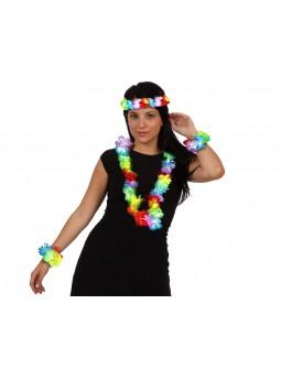 Set de pulseras, collar y cinta para la cabeza