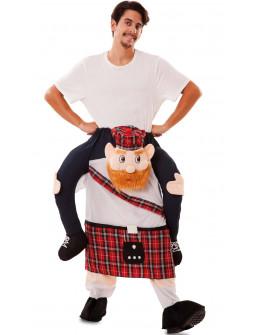 Disfraz de Escocés a Hombros para Adulto