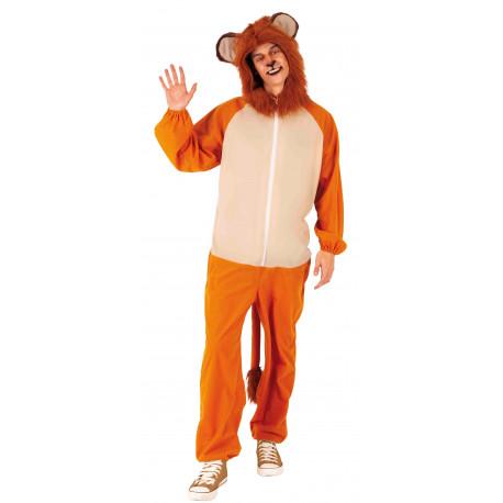 Disfraz de León Divertido para Adulto
