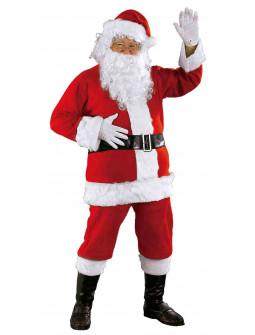 Disfraz de Papá Noel con Barba para Hombre
