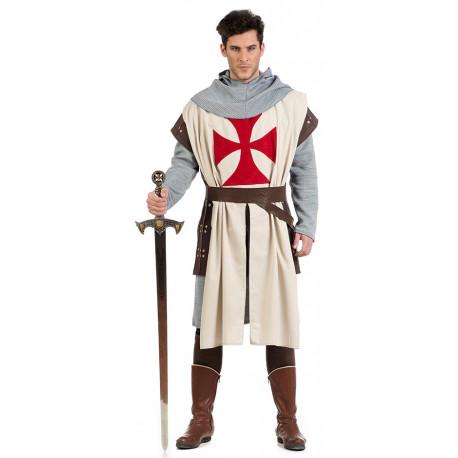Disfraz de Maestre Templario Medieval para Hombre