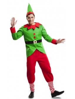 Disfraz de Elfo de Papá Noel para Hombre