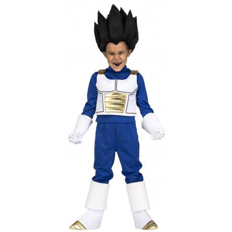 Disfraz de Vegeta Dragon Ball Infantil