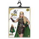 Disfraz de Reina Vikinga Elegante para Mujer