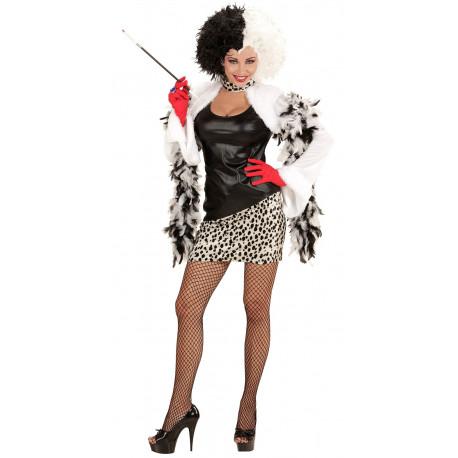 Disfraz de Cruela de Vil para Mujer