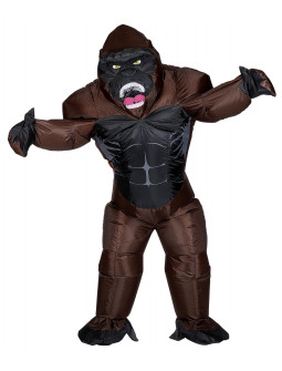 Disfraz de Gorila King Kong Hinchable para Adulto