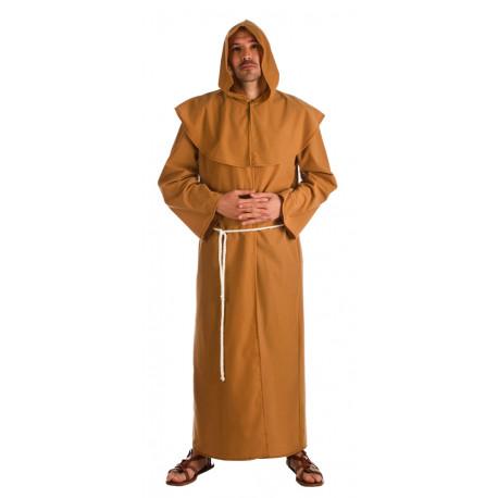 Disfraz de Fraile Medieval para Adulto