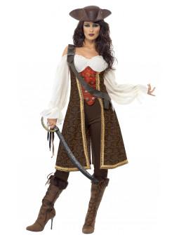 Mujer Pirata Lujo