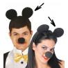 Diadema de Orejas de Ratón Mickey Mouse