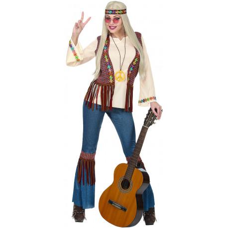 Disfraz de Hippie Años 60 para Mujer