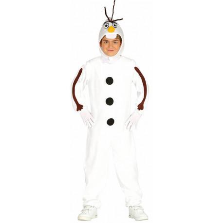 Disfraz de Muñeco de Nieve Olaf para Niño