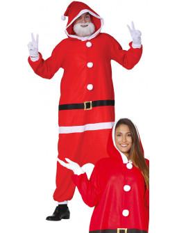 Disfraz de Papá Noel Pijama para Adulto