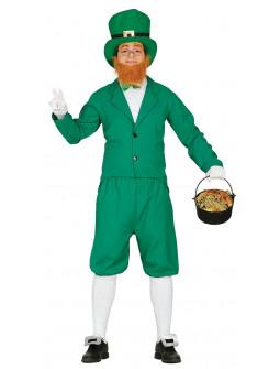 Disfraz de Duende Irlandés para Adulto