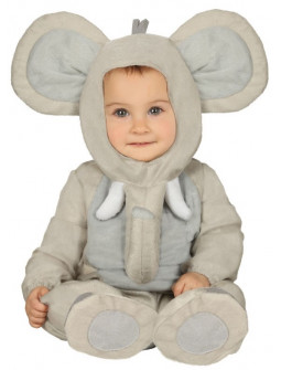 Disfraz de Elefante Divertido para Bebé
