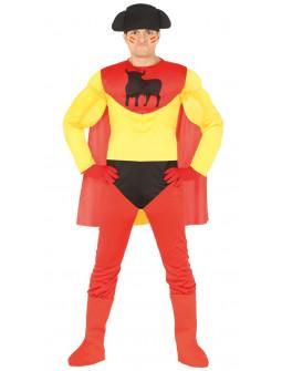 aa419eba5f1 Disfraz de Superhéroe Español para Hombre ...