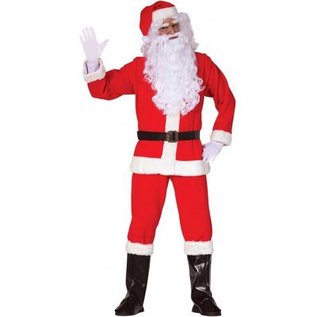 Disfraz de Papá Noel con Accesorios para Adulto