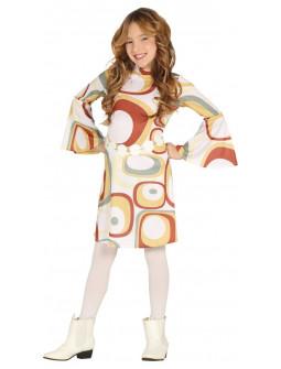 Disfraz de Chica Disco Años 70 para Niña