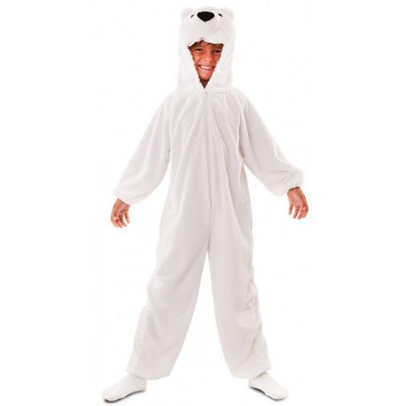 Disfraz de Oso Polar de Peluche Infantil