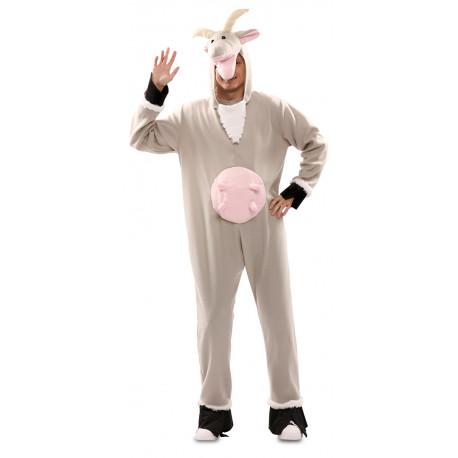 Disfraz de Cabra Gris para Adulto
