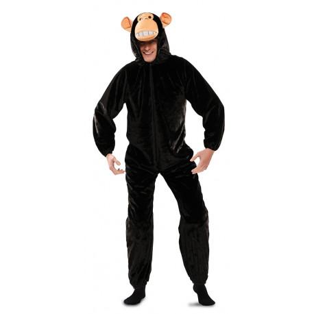 Disfraz de Mono de Peluche para Adulto