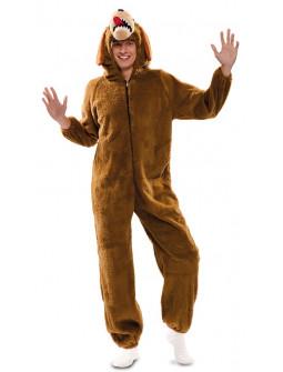 Disfraz de Perro de Peluche para Adulto