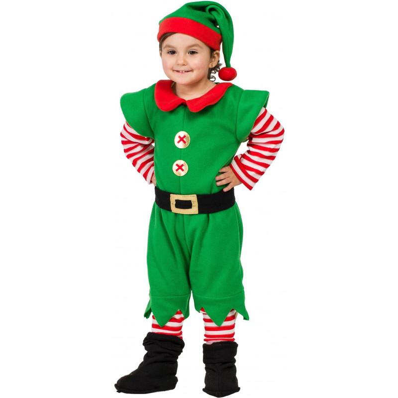 Disfraz de duende navide o para beb comprar online - Disfraz navideno nina ...