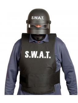 Casco de Policía Antidisturbios SWAT para Adulto