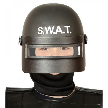Casco de Policía Antidisturbios SWAT Infantil