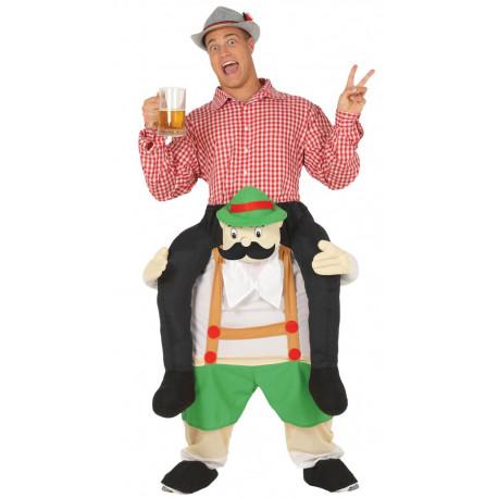 Disfraz de Tirolés Oktoberfest a Hombros para Adulto