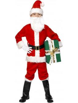 Disfraz de Papá Noel Alta Calidad Infantil