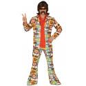 Disfraz Disco Años 70 Multicolor para Hombre