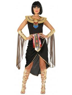 Disfraz de Cleopatra Negro para Mujer