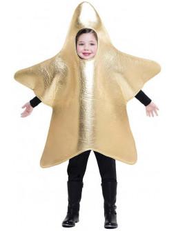 Disfraz de Estrella Dorada de Belén Infantil