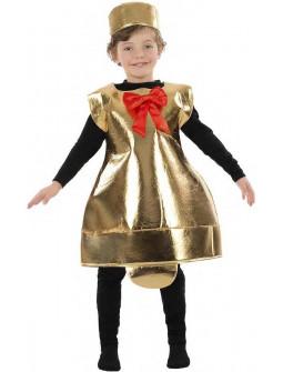 Disfraz de Campana Navideña Infantil