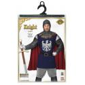 Disfraz de Caballero Medieval Azul para Hombre