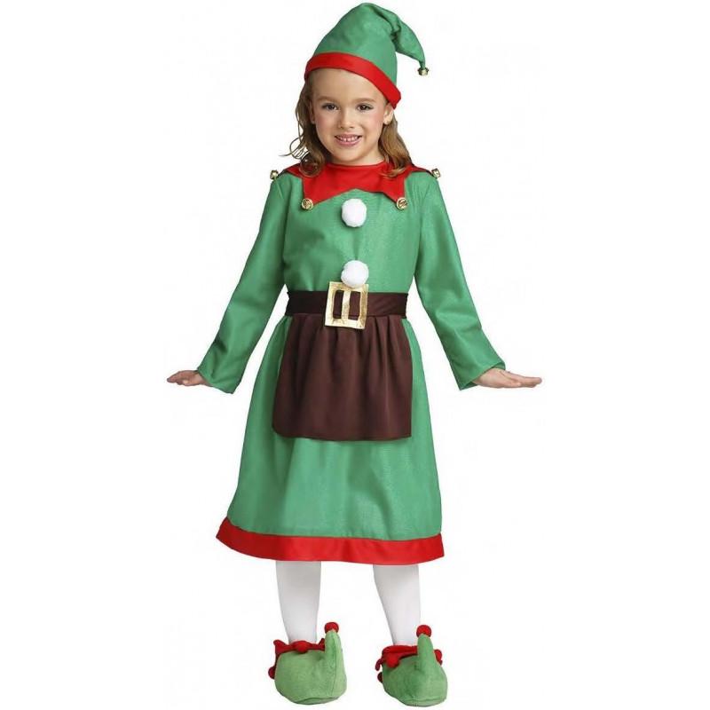 Disfraz de duende navide o para ni a comprar online - Disfraz navideno nina ...