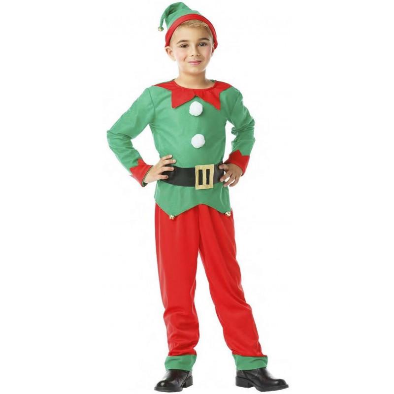 Disfraz de duende navide o para ni o comprar online - Traje de duende para nino ...