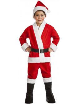 Disfraz de Papá Noel Bonachón para Niño