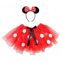 Kit de Disfraz Ratoncita Minnie Mouse Infantil